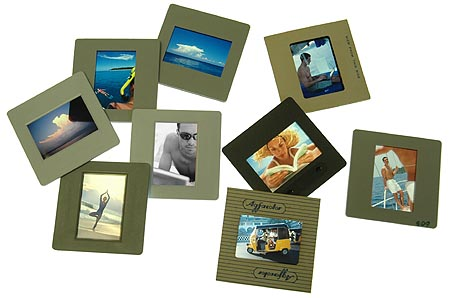 stuff i do for college creation of art out of film slides